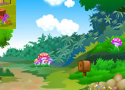 Mushroom House Treasure Escape