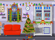 Decorated Christmas House Escape