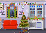 布置圣诞房子逃脱