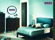 逃出唯美藍色房間
