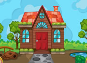 Cartoon Garden House Escape