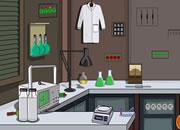 离开实验室