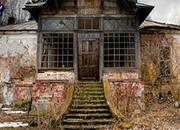 逃离破旧房子