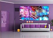 逃出紫色现代房子