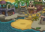 逃离鳄鱼洞穴