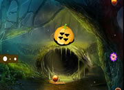 Fantasy Pumpkin Forest Escape