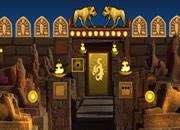 逃离古埃及神像