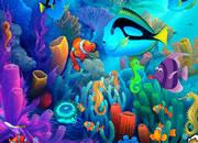 逃离美妙的水下世界