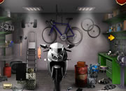 Can You Escape Bike Garage