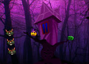 Halloween Gothic Forest Escape