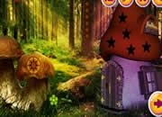 幻想蘑菇森林逃离