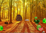 感恩节幻想水果森林逃离