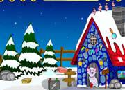 圣诞老人雪山逃脱