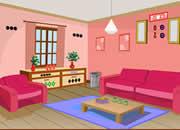 逃出感恩节粉色房间