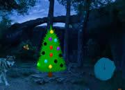 圣诞节荒野月色逃脱