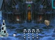 圣诞节圣诞老人逃离