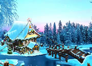 The Frozen Sleigh-A Bridge Over The River Escape