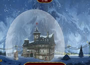 The Frozen Sleigh-The Snow Globe House Escape