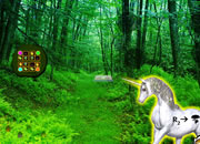 Unicorn Fantasy Forest Escape