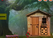 Forest Wooden House Escape