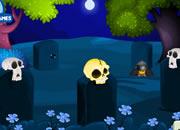 月色骷髅森林逃离