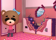 Raccoon'S Sister And Grape'S Room Escape