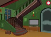 逃離黑暗綠色房間