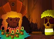 幻想骷髅森林