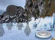冰冻麋鹿救援