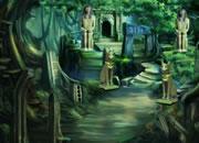 逃离未被发现的森林