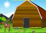 Horse Form House Escape