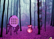 Fantasy Purple Forest Escape