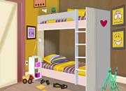 逃離華麗的臥室