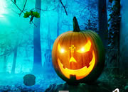 Halloween Green Pumpkin Escape