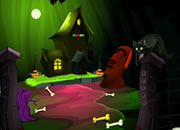 Find Spooky Treasure: Pumpkin House