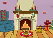 可爱的圣诞节房间逃脱