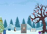 逃離冬季房子