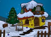 圣誕節雪人救援
