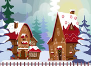 圣诞节姜饼屋宠物逃脱