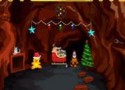 圣诞节山洞逃离