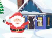 圣诞老人球中逃脱