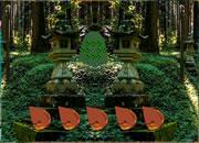 探险神庙森林逃离