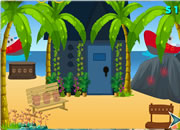 逃离海滩房子