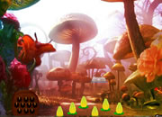 Mushroom Forest Butterfly Girl Escape