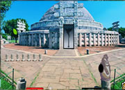 Find My Camera In Historical Temple