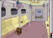 The Train Door Escape