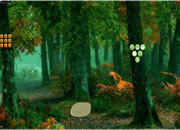 Easter Bunny Autumn Forest Escape