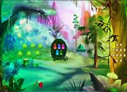 女孩逃离蘑菇笼子