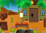营救骆驼逃离沙漠森林
