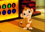 解救猴子逃离商场